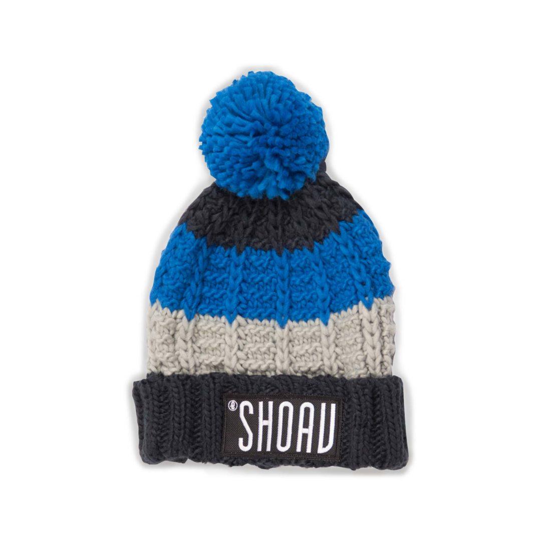 SHOAV Wollmütze blau