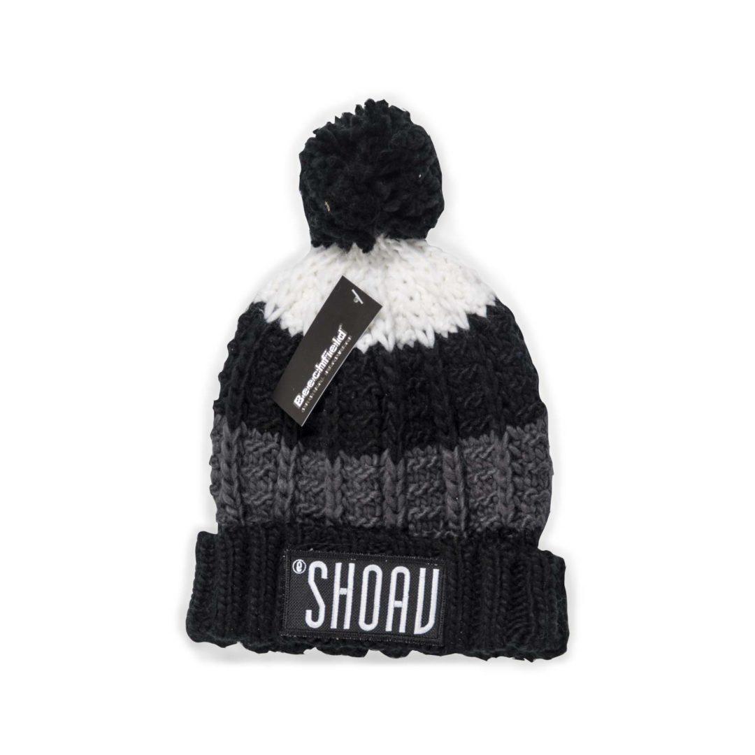 SHOAV Wollmütze schwarz